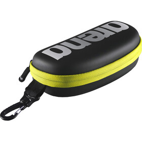 arena Goggle Case black-silver-fluo yellow